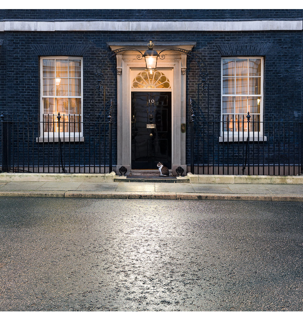 10 Downing Street, London. Paul Grundy  Architectural Photographer
