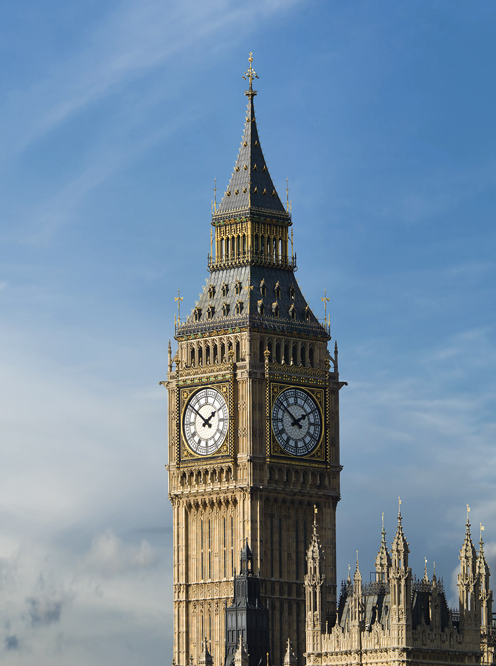 Paul Grundy Architectural Photography.  Big Ben, London
