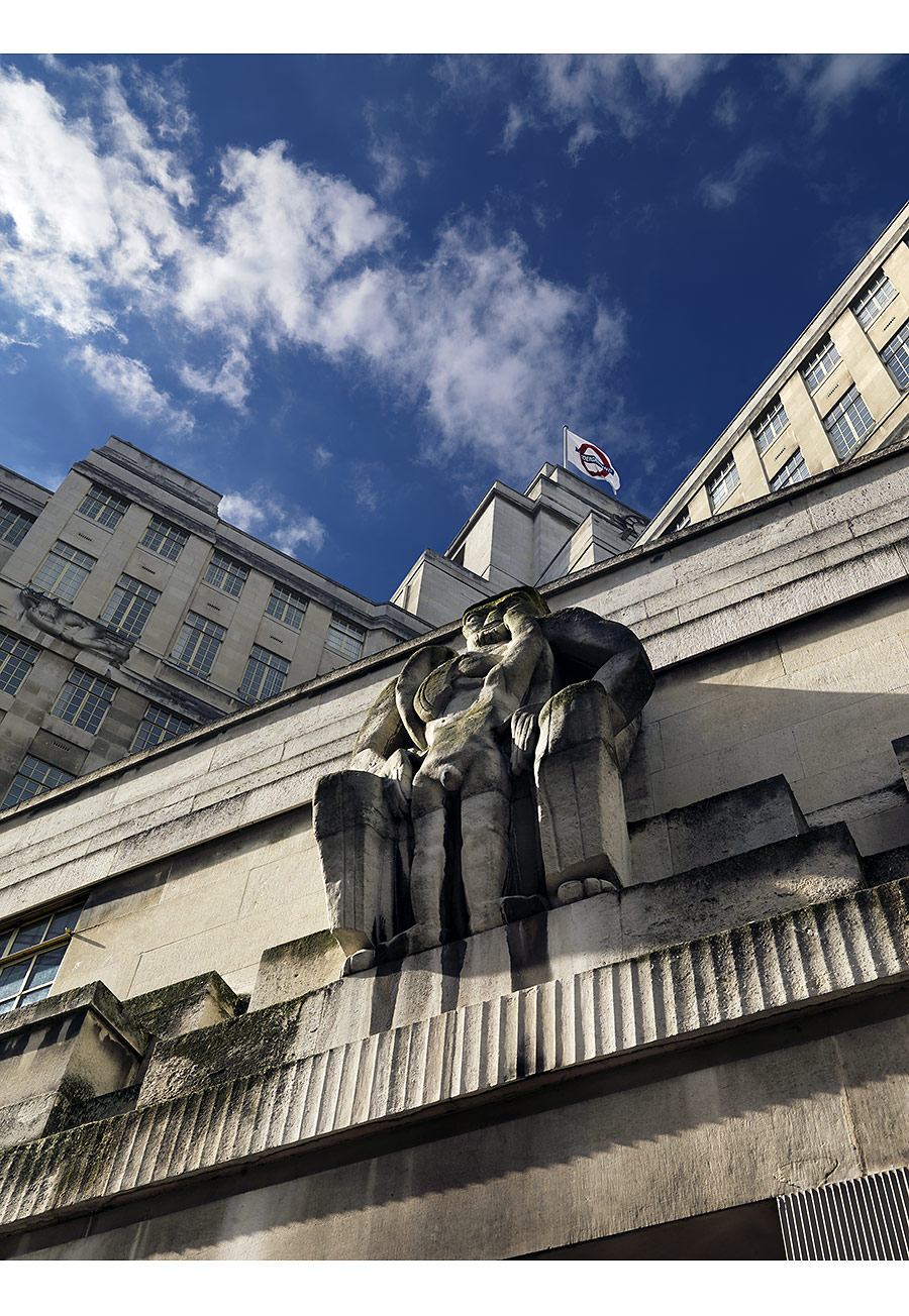 Paul Grundy. Jacob Epstein Sculpture. London Underground HQ