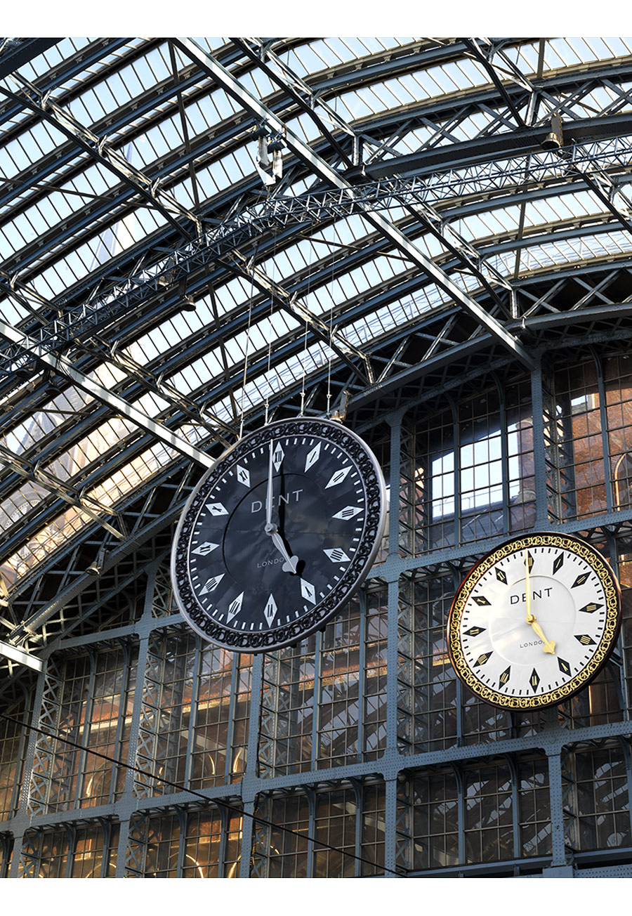 Paul Grundy. St Pancras Station