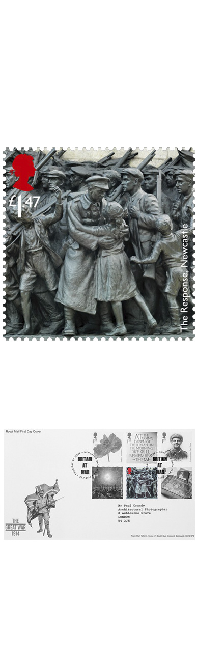 Paul Grundy. The Response Royal Mail Stamp
