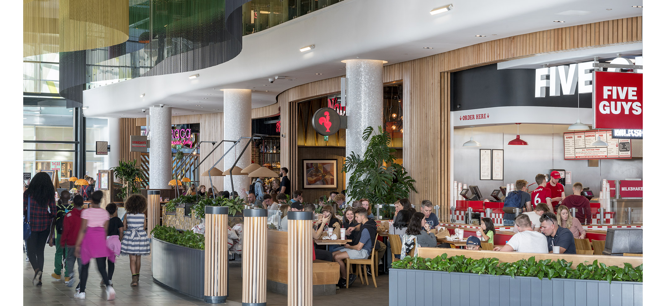 Watermark Restaurants. Hammerson Plc