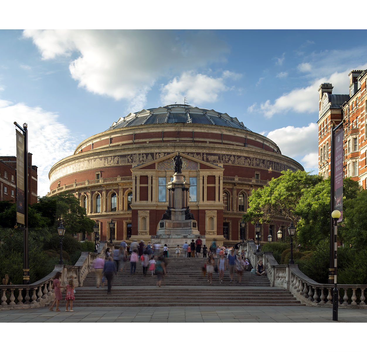 Paul Grundy. The Royal Albert Hall