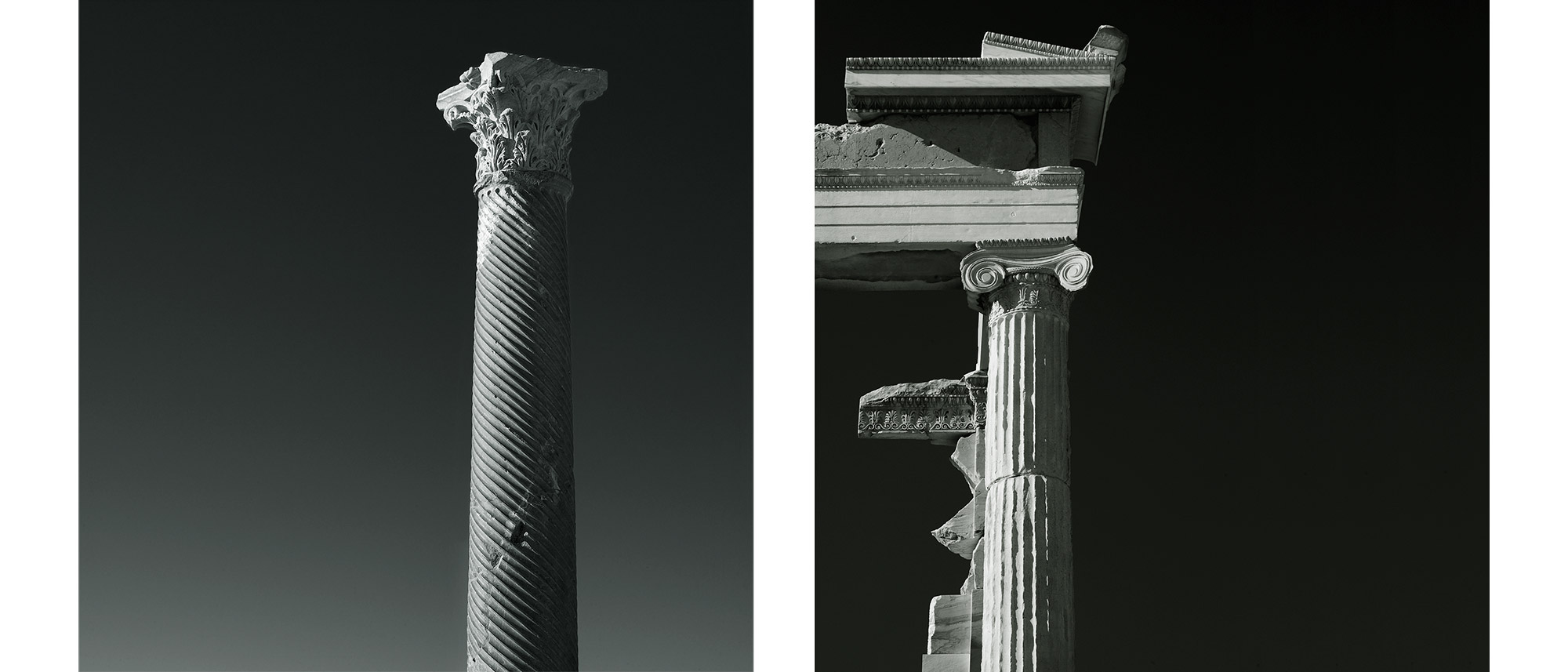 Paul Grundy Photography. Greek Columns