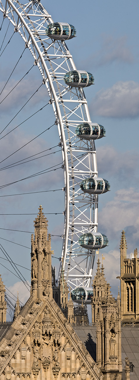Paul Grundy. London Eye